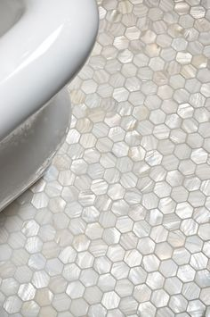 Bathroom Tile Flooring gorgeous wood look tile floors for inspiring bathroom flooring with unique white bathtubs stainless legs also Mother Of Pearl Tiles For Bathroom Bathrooms Mother Ofpearl Tile Fresh Water Mother