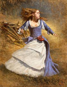 Sasha's Painting - angry lady 01~2 - Sasha Beliaev & Lena Rivkina