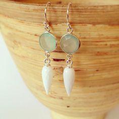 Spike earrings modern earrings edgy earrings trendy by AinaKai