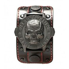 Shop for Affliction Skull Watch. Get free delivery On EVERYTHING* Overstock - Your Online Watches Store! Unique Mens Clothing, Mens Alternative Clothing, Alternative Men, Men's Clothing, Mens Watches Leather, Watches For Men, Crane, Affliction Clothing, Skeleton Watches