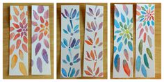 Water color Book Marks