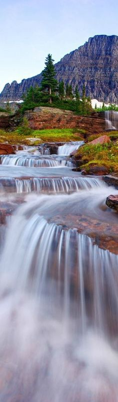 Waterfalls in Glacier National Park, Montana | visitglacierpark.com