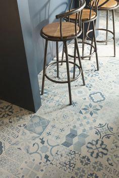 Carreaux ciment tendance carrelage sol vinyle sol - Carrelage imitation tomette ancienne ...