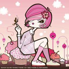 Illustration: Julie West  (theyareillustrarious.blogspot.com)