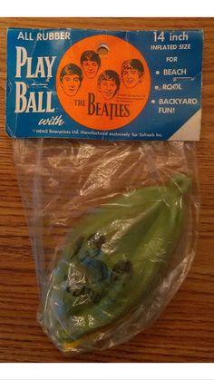 The official Beatles blow up Beach Ball - Nems Seltaeb from 1964