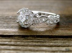 Moissanite Engagement Ring white gold Unique Engagement Ring Vintage Diamond Wedding Twisted Bridal set Stacking Anniversary Gift for Women - Fine Jewelry Ideas Jared Engagement Rings, Dream Engagement Rings, Classic Engagement Rings, Infinity Engagement Rings, Halo Engagement, Gold Knot Ring, Matching Wedding Rings, Diamond Cluster Ring, Jewelry Rings