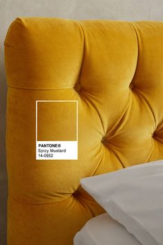 PANTONE Spicy Mustard // Fashion Color Report Inspiration // For Fall 2016 // From Gold Blog