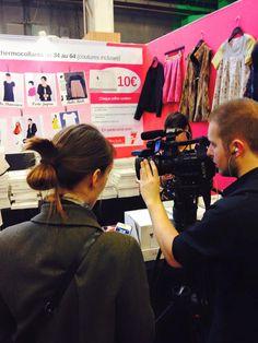 Interview sur les patrons thermocollants Made in me couture pour JT d'M6 !