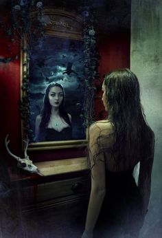 On the other side of the mirror there's a portal to my darkest DESIRES..