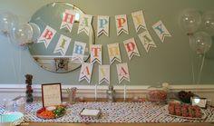 Sprinkle Birthday Tablescape