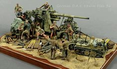 Military diorama. ❣Julianne McPeters❣ no pin limits