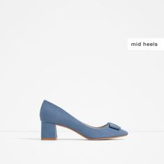 MEDIUM HEEL SHOES WITH BOW