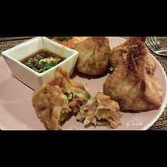 Thai food, money bag