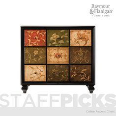 Raymour & Flanagan - Celine Accent Chest | This accent chest can work anywhere in your home.