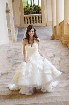Esquire of Style at esqstyle.com. Ivan Apfel Photography. Miami Biltmore Wedding. Lazaro Wedding Dress. Vintage Hair. More photos at http://apfelphoto.com/2012/05/31/katie-ryans-biltmore-wedding-coral-gables-wedding-photographer/