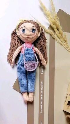 Handmade doll,  amigurumi doll, crochet doll pattern, doll pattern, Crochet doll, handmade doll, soft sculpture doll, doll pattern pdf, cloth doll pattern, soft doll patterns, crochet doll pattern,  Crochet pattern toy,  Crochet pattern doll,  Crochet cloth dolls,  Cloth dolls,  Crochet soft dolls,  Stuffed dolls,  Crochet pattern stuffed doll,  Crochet pattern girls,  Amigurumi girls,  Pattern amigurumi dolls,  Pattern amigurumi girls,  Crochet pattern soft toy doll,  Crochet amigurumi cute… Crochet Dolls Free Patterns, Crochet Doll Pattern, Amigurumi Patterns, Amigurumi Doll, Doll Patterns, Stuffed Dolls, Crochet Keychain, Crochet Mouse, Plush Pattern