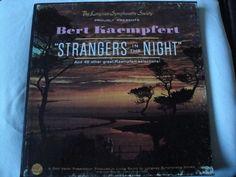 "BERT KAEMPFERT ""STRANGERS IN THE NIGHT"" 5 VINYL LP BOX SET LONGINES STEREO EX #BigBandSwingJazzInstrumentJazzPopEASYLISTENING"