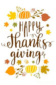125 Happy Thanksgiving Messages, Wishes & Greetings for 2021