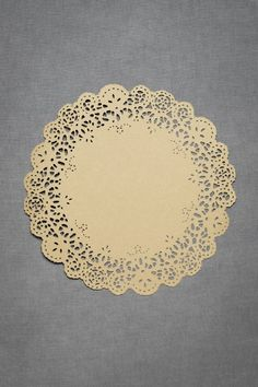'feminine touch chargers'  neutral color doilies, woodgrain embossed paper  $48.00/set of 10