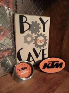 Few KTM-Man details for the KTM Cave
