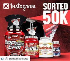 En #Instagram: #Repost @pontemasfuerte with @repostapp  SORTEO 50K INSTAGRAM!! Quieres participar en el sorteo?  Sigue estos 3 sencillos pasos:  1. Síguenos 2. Etiqueta a 3 amigos 3. Publica la imagen en tu perfil con el hastag #sorteopmf50k  El martes que viene anunciaremos el ganador!  Mucha suerte a todos  SORTEO PMF 50K #bePMF #somosesfuerzo  http://ift.tt/13l6eZx  #fit #fitness #healty #lifestyle #gym #bodybuilding #motivation #training #workout #progress #fuerte #meme #entreno…