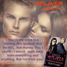 #Player by Cambria Hebert ♥ Book Blitz & GIVEAWAY ♥ (Contemporary/New Adult Romance)