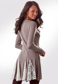 Cherish Tunic for Tall Women | Long Elegant Legs