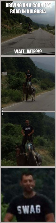 Badass Bulgarians- initially i thought that this was just plain cool, and then I saw his t-shirt and died