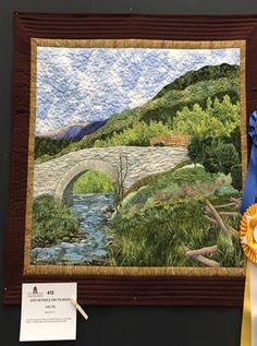Judy Lilly: Over The River & Thru The Woods Best of Show Horry County, SC Quilt Gala, Ocean Lakes Campground, Myrtle Beach, SC
