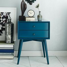 side table, love the color