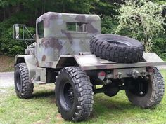 1971 M35A2 Military Truck Bobbed 2.5Ton Jeep Duece