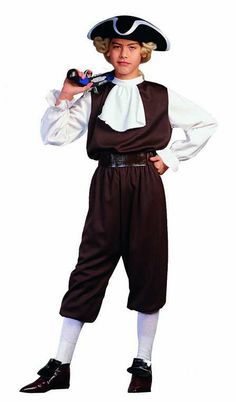RG Costumes Colonial Boy Costume >>> See this awesome image : Kids halloween costumes Casual Hijab Outfit, Dress Up Costumes, Boy Costumes, Costume Ideas, Couple Costumes, Halloween Outfits, Halloween Costumes For Kids, Boy Halloween, Trendy Halloween