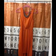 Mandarin sheer dress from nordstrom Create a cute ensemble with this classic piece. Pair with shorts, leggings, boots. Day or night wear Dresses