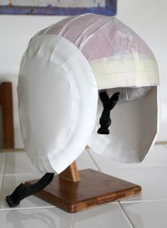 Filth Wizardry: Kid's DIY Star Wars X-wing fighter pilot's helmet Astronaut Diy, Diy Astronaut Costume, Astronaut Helmet, Astronaut Outfit, Space Party, Space Theme, Diy For Kids, Crafts For Kids, Space Costumes
