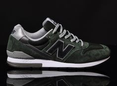 New Balance 996 - Green / Black