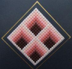 geometric shapes plastic canvas patterns   ... stitches   bargello needlepoint geometric shapes straight stitch