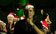 Santa Bruce is coming to town!