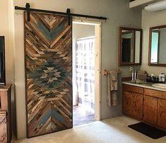 Sliding barn door designs products 52 new Ideas Art Rustique, Barn Door Designs, Sliding Doors, Front Doors, Entry Doors, Front Entry, Patio Doors, Screen Doors, Oak Doors