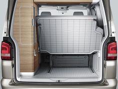 """Bett - Bed Schlaf-Sitz-Rückbank  VW T5 """"Hotel"""" California Comfortline Camperbus  Campervan  Schlafen im Bus"""