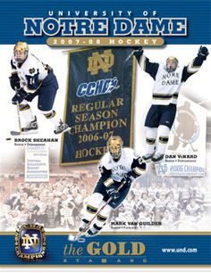 Notre Dame Hockey - Google Search