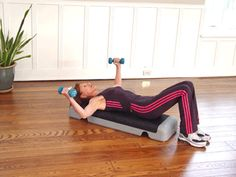Today's Exercise: Dumbbell Flys - good one for anyone with osteoporosis of the bones