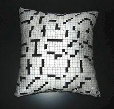 Crossword pillows!