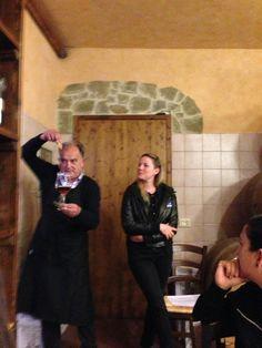 Me doing #winetasting! #pierluigi #torciano #winery #wine