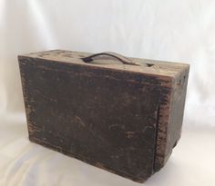 WW1 Wood Ammo Box by ContemporaryVintage on Etsy