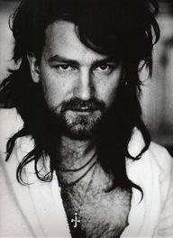 young hairy, Fabio-like Bono by Anton Corbijn (ha ha ha)
