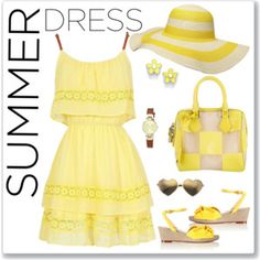Sunny Summer Sundress