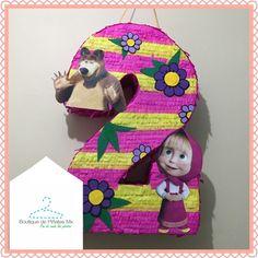 Piñata • Masha • Masha y el Oso • envíos a todo México $580 • 2-3 elaboración y 5-7 días hábiles de envío. Bear Birthday, 3rd Birthday Parties, 2nd Birthday, Marsha And The Bear, Bear Party, Ideas Para Fiestas, Peppa Pig, Party Planning, First Birthdays