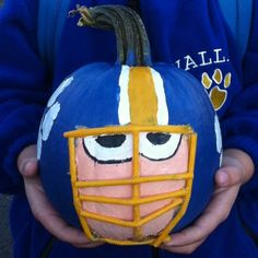 Is your kiddo a Football Fan! Well, why not show your pumpkin pride?