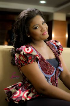 Omotola Jalade Ekeinde--My favorite actress; we watched our first movie together and she was the actress in it. Memories...
