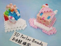 2017_1103_145936p1170697 3d Perler Bead, Perler Beads, Crochet Necklace, Paper, Projects, Crochet Collar